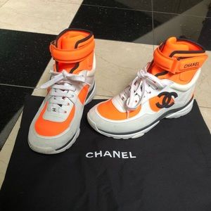 Chanel 2018 High Top Sneakers